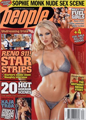 Irina Voronina Playboy Playmate People Cover