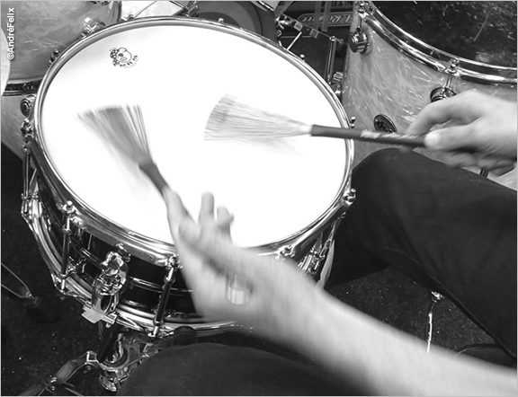 Joe DeRenzo Drumming