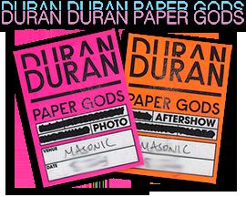 Duran Duran Live Paper Gods Tour