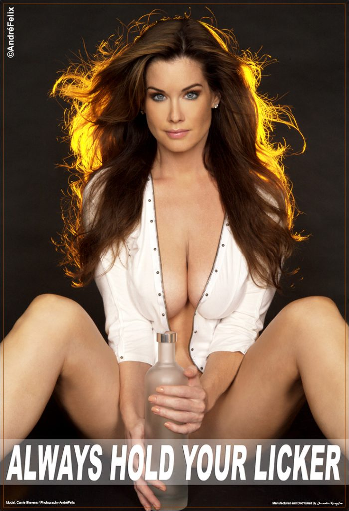 Carrie Stevens Playboy Playmate Poster