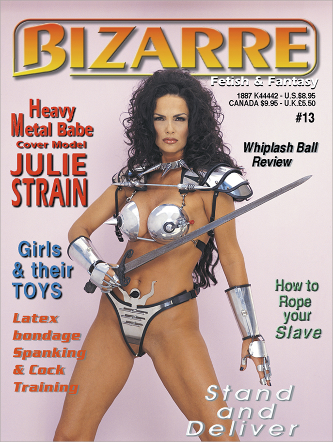 Cover Bizarre Penthouse Pet of the Year Julie Strain