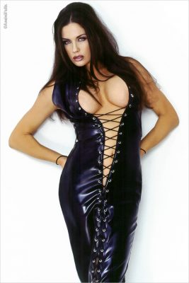 Seana Ryan Pethouse Pet Latex_Dress