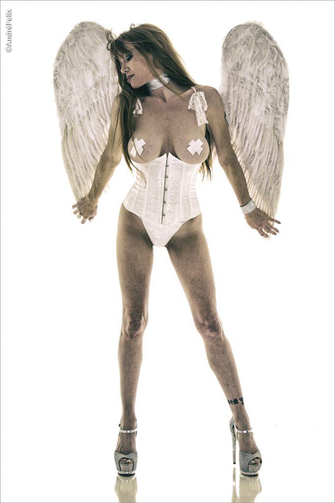 """Rebecca Mary """"White Angel"""""""