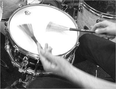 Joe DeRenzo Drumming
