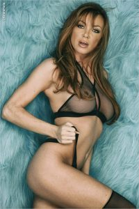 Rebecca Mary Lingerie Pinup