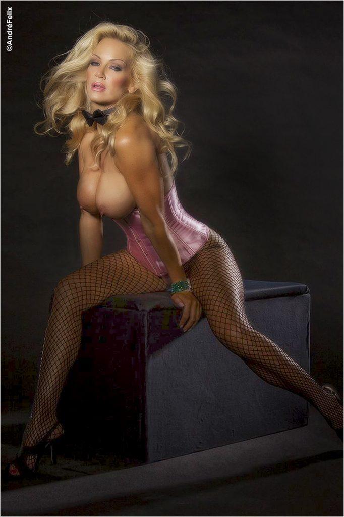 Barbara Moore Glamour shoot