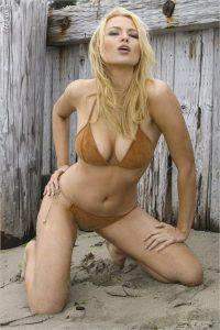 Irina Voronina Playboy® Playmate Beach Shoot
