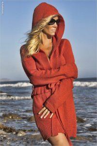 Barbara Moore Playboy®Playmate Beach Sweater