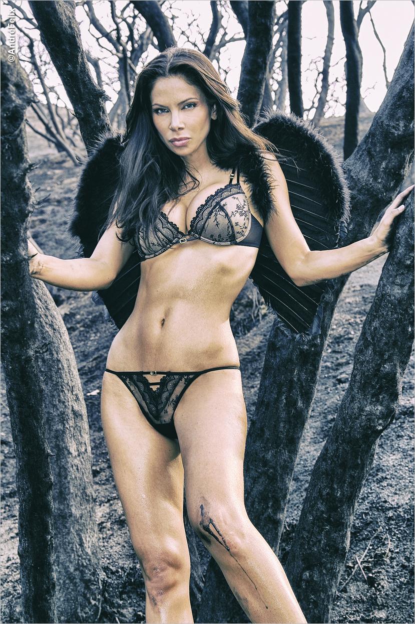 Yvette Nelson Black Angel Wings
