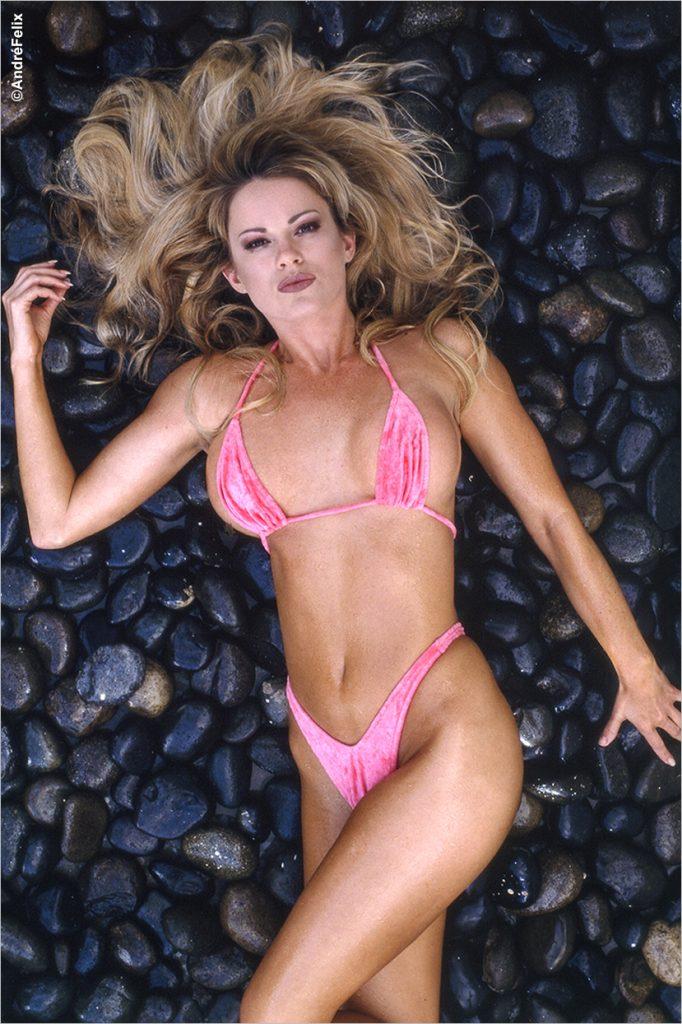 Gretchen Stockdale Pink Bikini