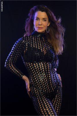 Claudia_Christian_Sexy CatSuit