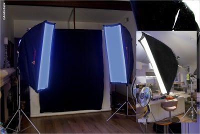 Sexy Catsuit Lighting set up