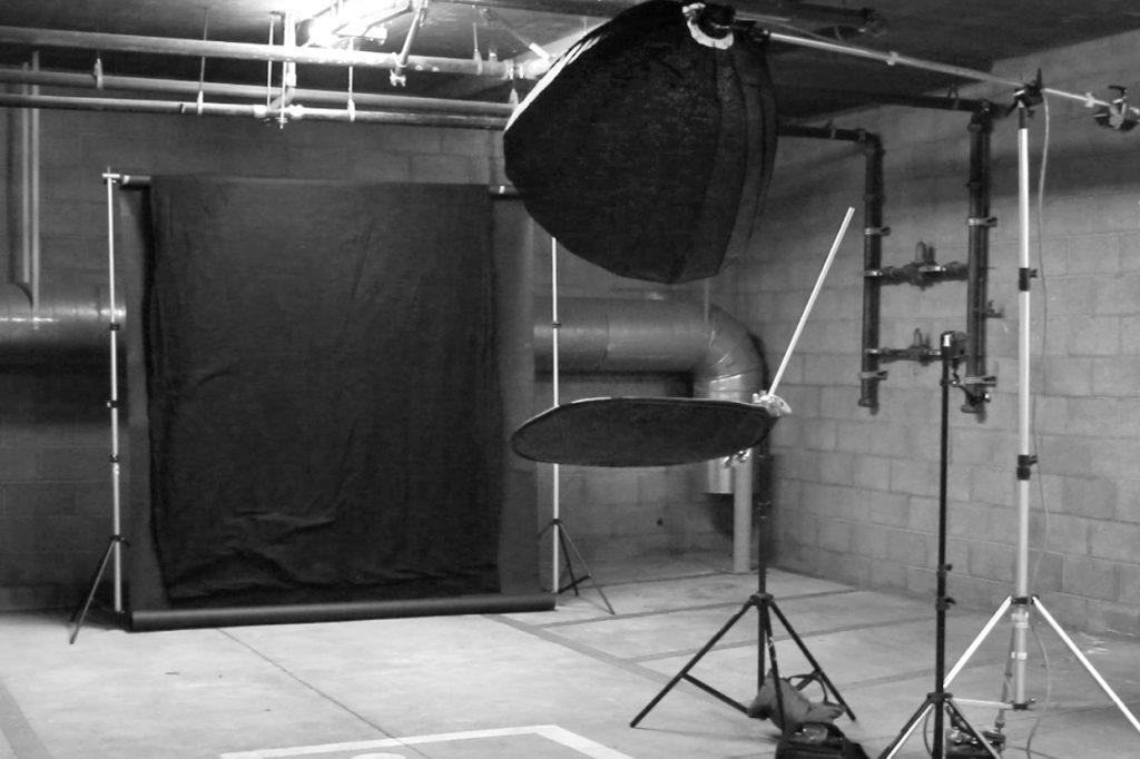 Glamour head shot setup