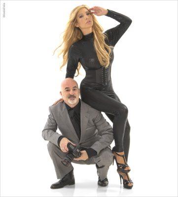 Photographer Andre Felix with Model Tasha Reign